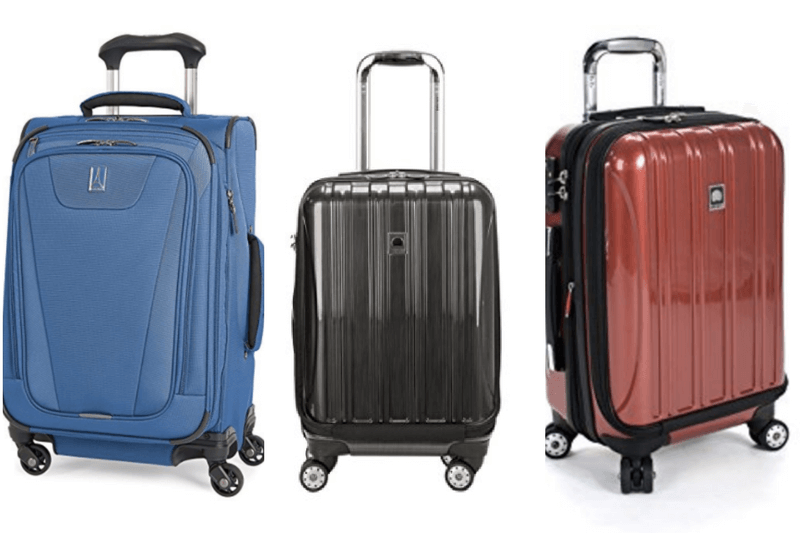 8 of the Best Carry-On Suitcases (Amazon Best Sellers)