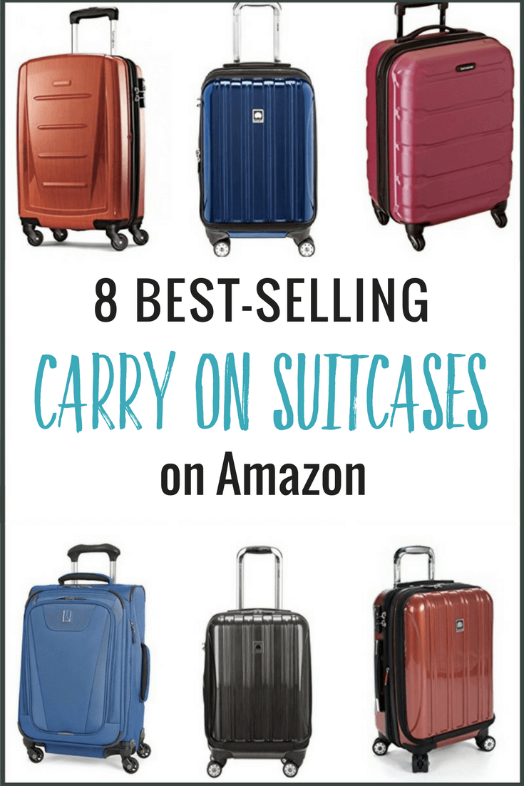 best-carry-on-suitcases-for-travel ▷ Comenta en 8 de las mejores maletas de mano (Amazon Best Sellers) por Ganesh