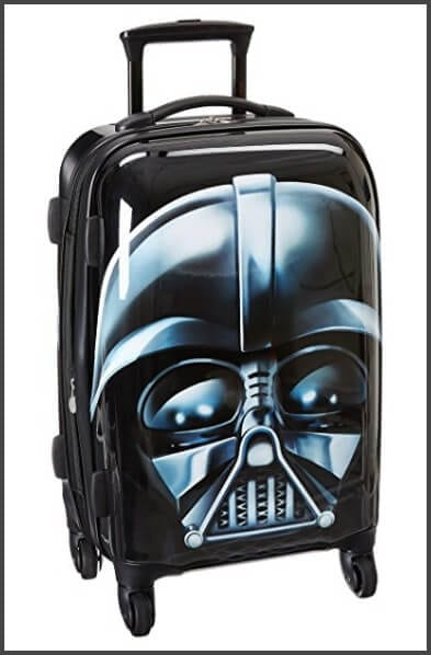 American Tourister Star Wars 21 Inch Hard Side Spinner - one of the best carry-on suitcases for kids :)