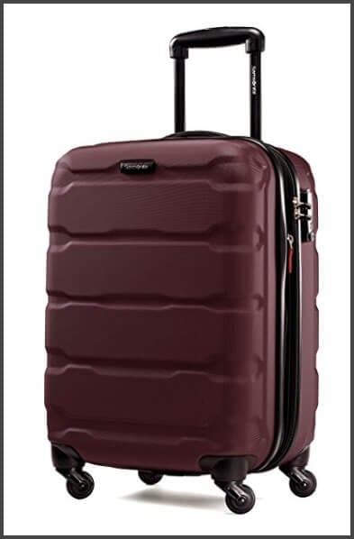 Samsonite Omni PC Hardside 20-Inch Spinner - one of the best carry-on suitcases