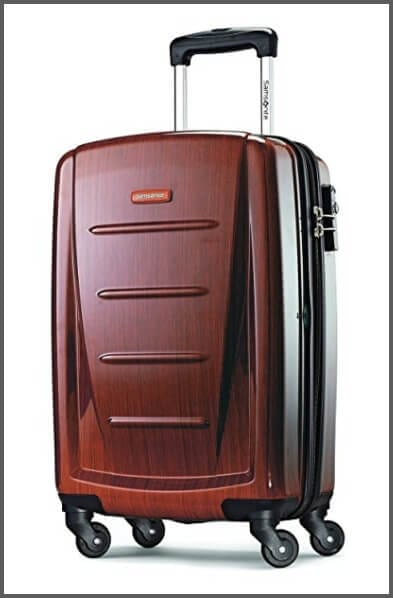 The Samsonite Winfield 2 Fashion Spinner - one of the best carry-on suitcases