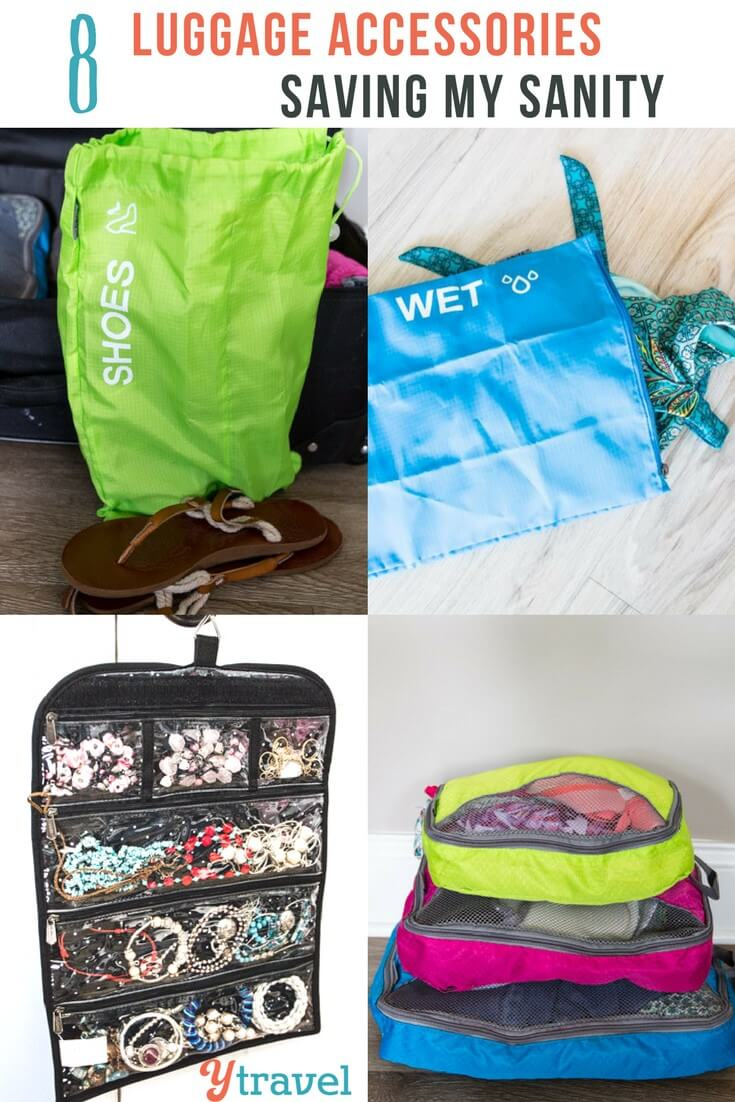 Packing organization driving you crazy? Here are 8 luggage accessories helping me pack neatly and efficiently and saving my family travel packing sanity.