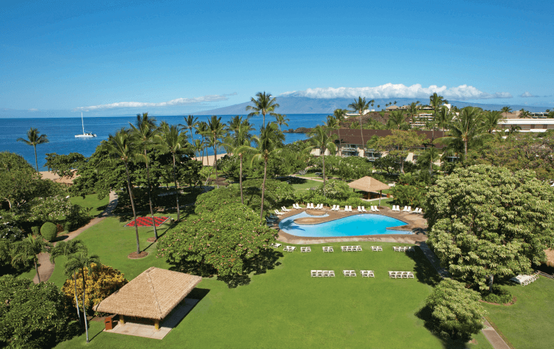 The Kaanapali Beach Hotel in Maui, Hawaii