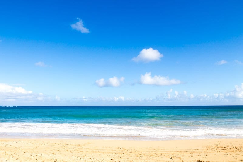 Paia Beach - one of the must stops along the famous Road to Hana drive in Maui