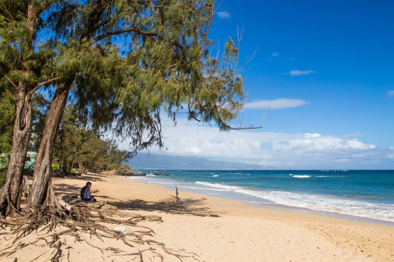 Paia Beach - The Road to Hana, Maui