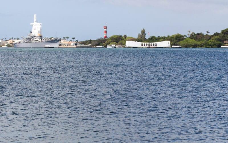 Pearl Harbor in Hawaii