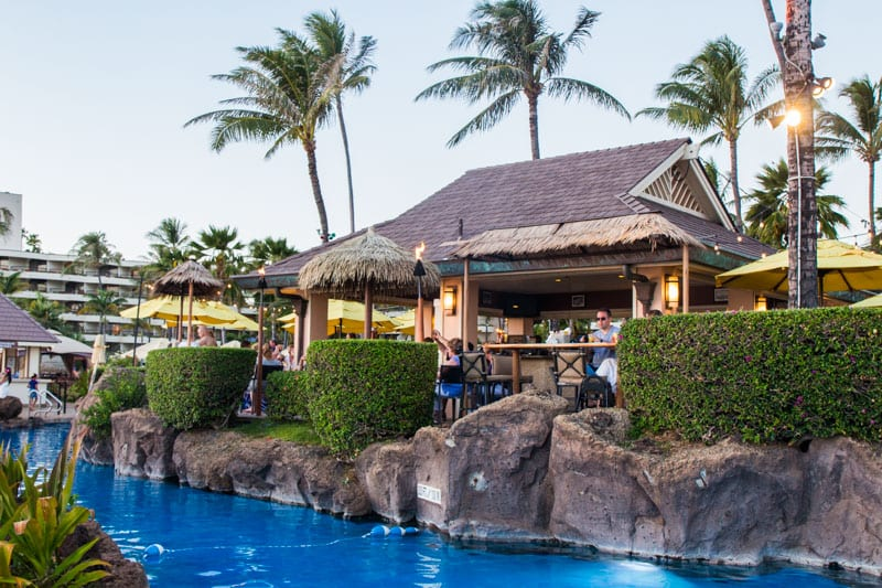 Cliff Dive Bar, Sheraton Maui