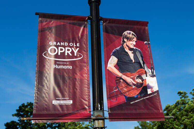 We would love to see Keith Urban perform at the Grand Ole Opry