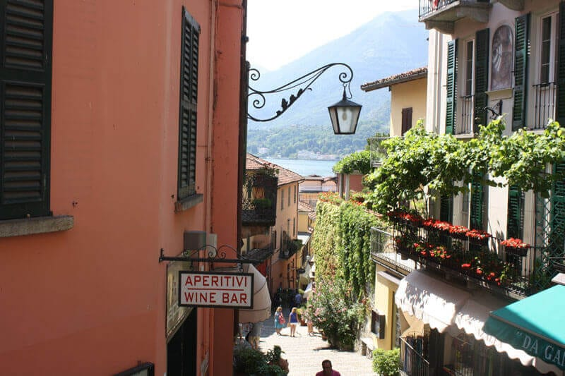 Bellagio is probably the most well known town on Lake Como