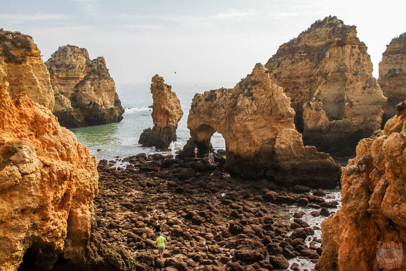 Ponta da Piedade is perfect for gorgeous views of the Algarve area in Portugal