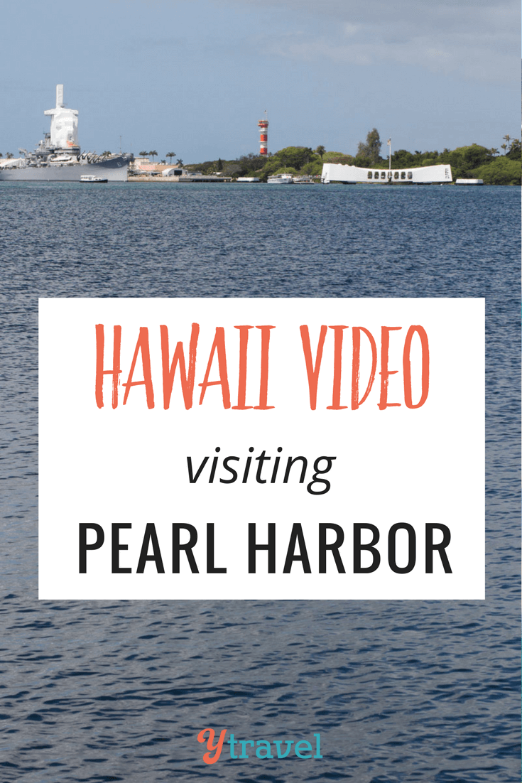 Want to see what it's like to visit Pearl Harbor? We show you!