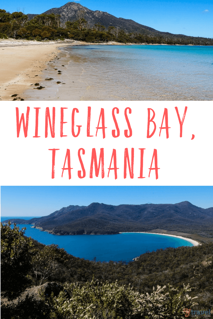Wineglass Bay in Freycinet National Park is one of Tasmania's iconic destinations. Take an early morning walk there like us and have it all to yourself!