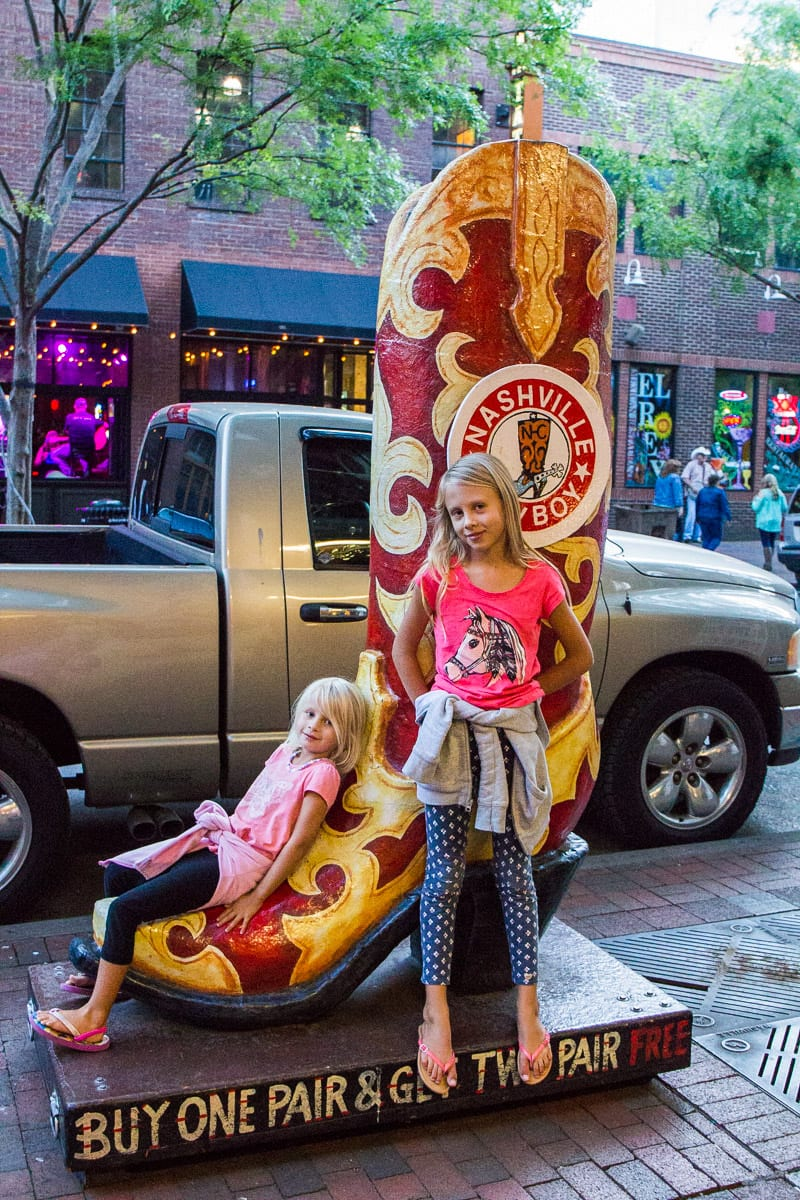 Having fun in Nashville - things to do in Tennessee with kids