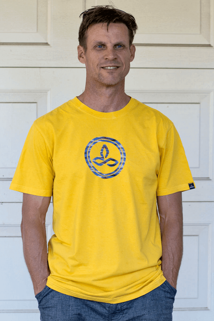 Not only do I love plain yet stylish t-shirts, but I'm a big fan of soft material on my back and this classic Prana shirt complete with Prana logo is 100% organic cotton and fair trade certified and travels with me everywhere - love the amber color!