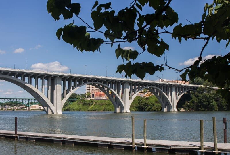 The Riverfront in Knoxville, Tennessee