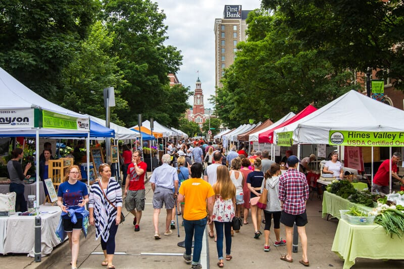 The Farmers Market is one of the best things to do in Knoxville