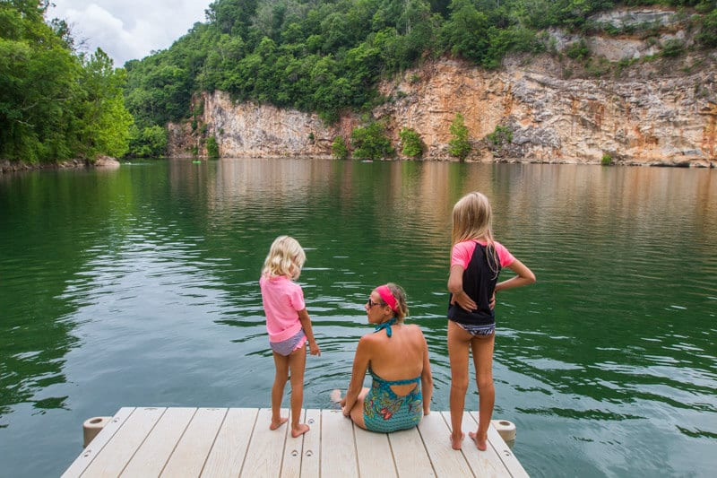 Mead's Quarry Lake - one of the best things to do in Knoxville, Tennessee