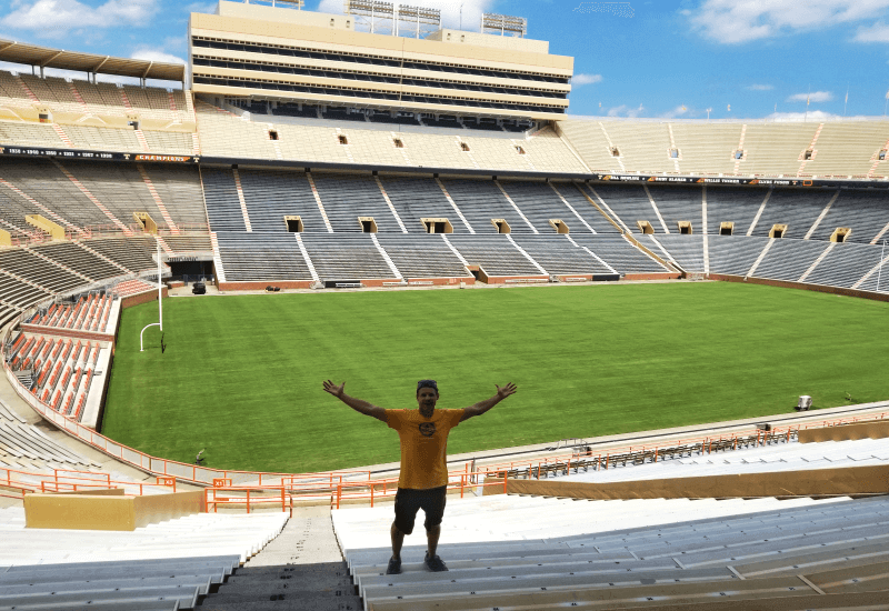 Neyland Stadium - home of the University of Tenneessee Volunteers Football team
