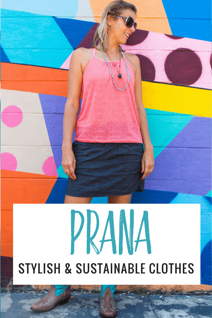 Looking for stylish travel clothing and active wear? Prana has a great range of clothes for men and women that not only look good, but are sustainable and good for the environment!