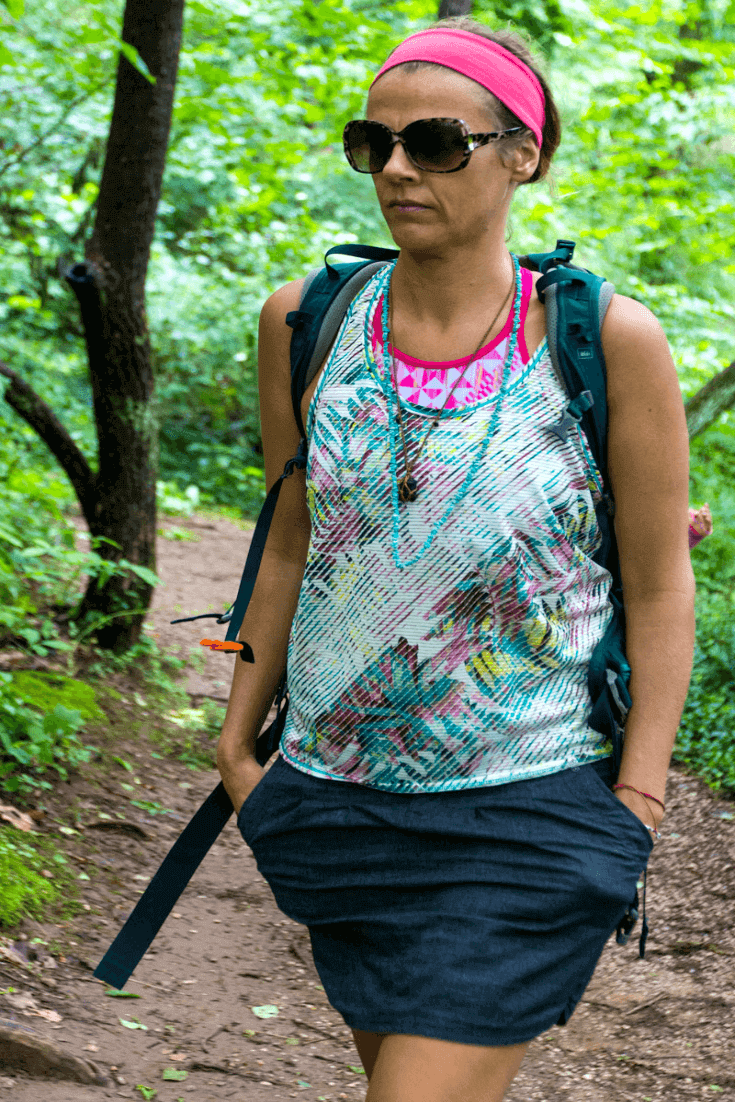Whether I'm walking in the forest or doing yoga at home, I love my Breezie Tank Top by prAna. Comfy and stylish.