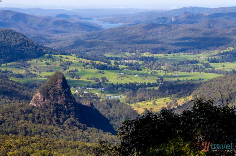 Bellbird Lookout at Binna Burra Lodge, Gold Coast Hinterland, Queensland, Australia