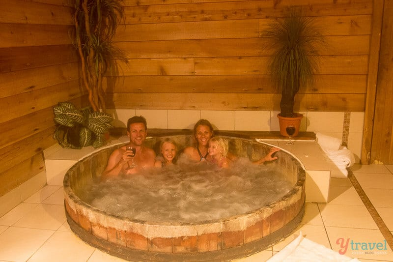Hot tub at The Mouses House Rainforest Retreat - Gold Coast Hinterland Accommodation, Queensland, Australia