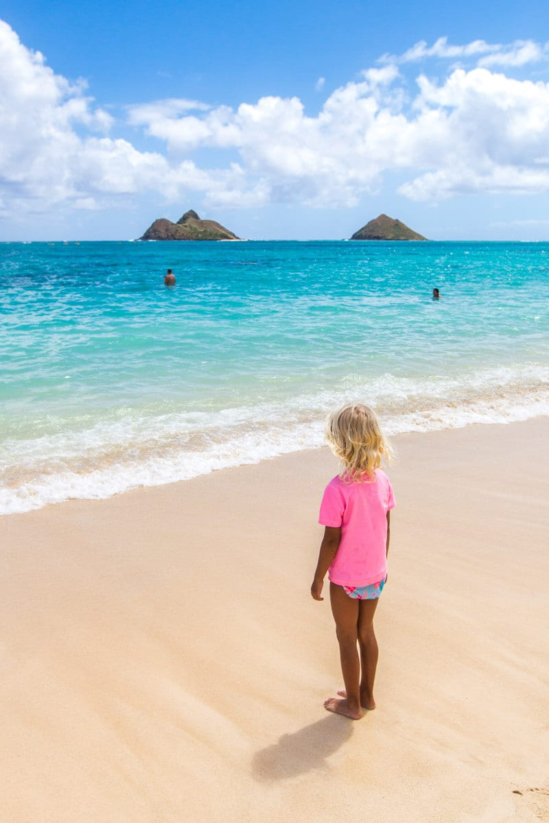 Lanikai Beach, one of the best things to do in Oahu, Hawaii