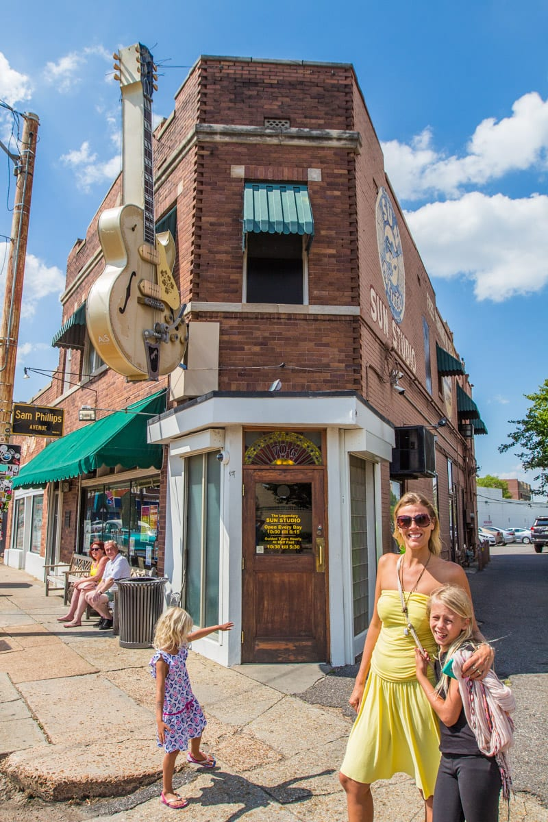The Sun Studio Tour is one of the best things to do in Memphis Tennessee