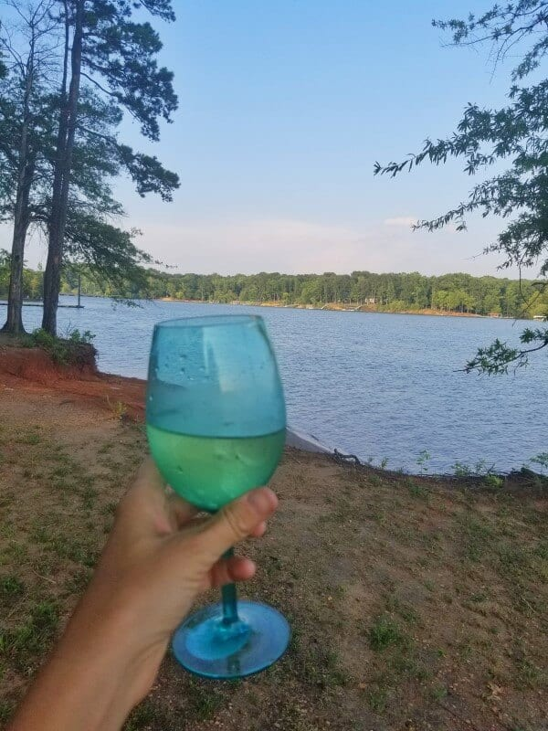 Nutbush camping Kerr Lake NC