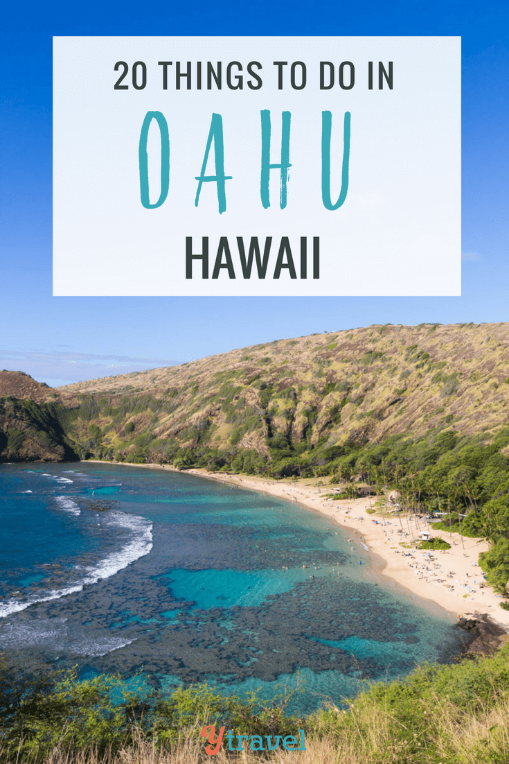 Planning a trip to Hawaii? Here are 20 of the best things to do in Oahu including activities in Waikiki, Honolulu, and tips for driving to the North Shore.