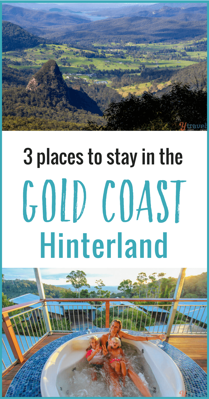 Planning a visit to the Gold Coast in Queensland, Australia and looking to explore the Hinterland? Check out these 3 Gold Coast Hinterland accommodation options for a perfect rainforest retreat.