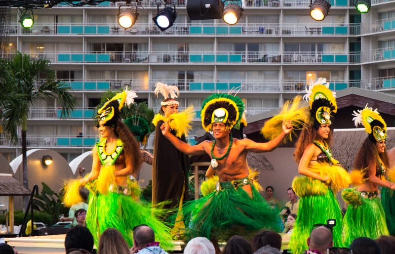 See a Polynesian Luau - one of the best things to do in Oahu