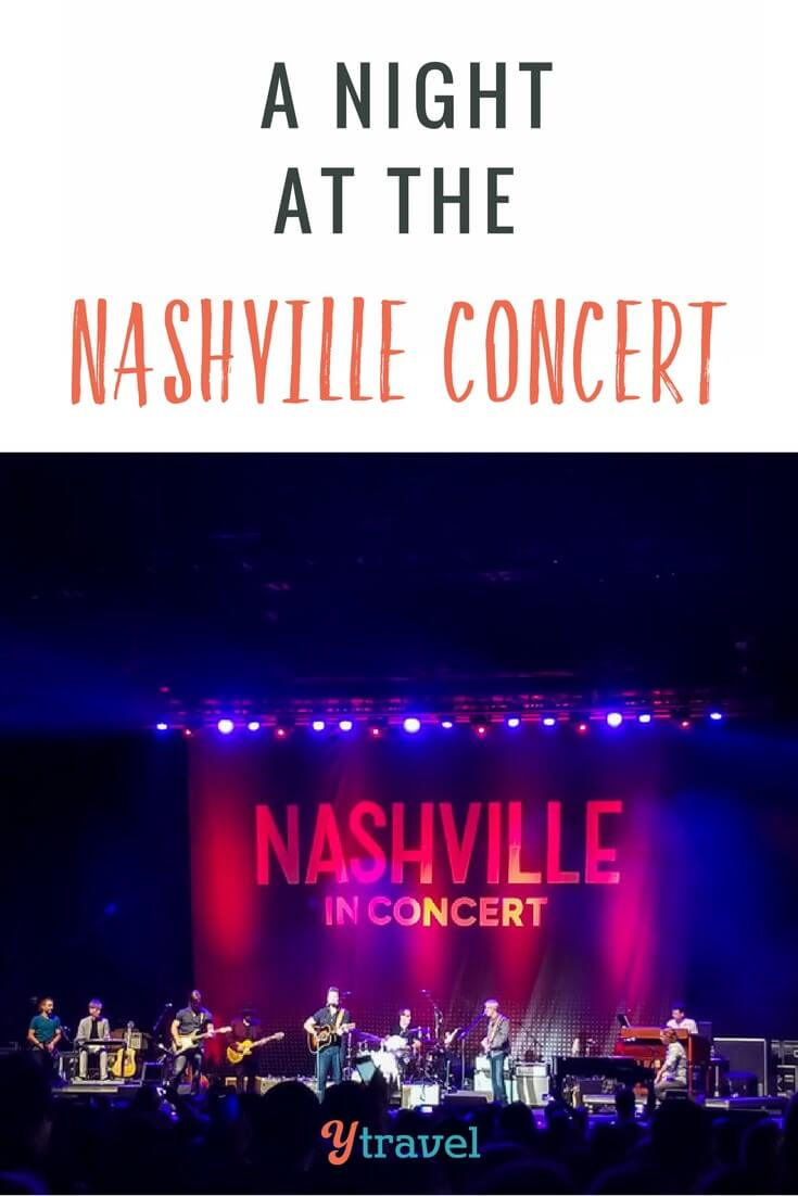 A night at the Nashville in concert in Raleigh North Carolina. Do you love the show?