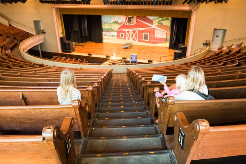 Ryman Auditorium tour, Nashville