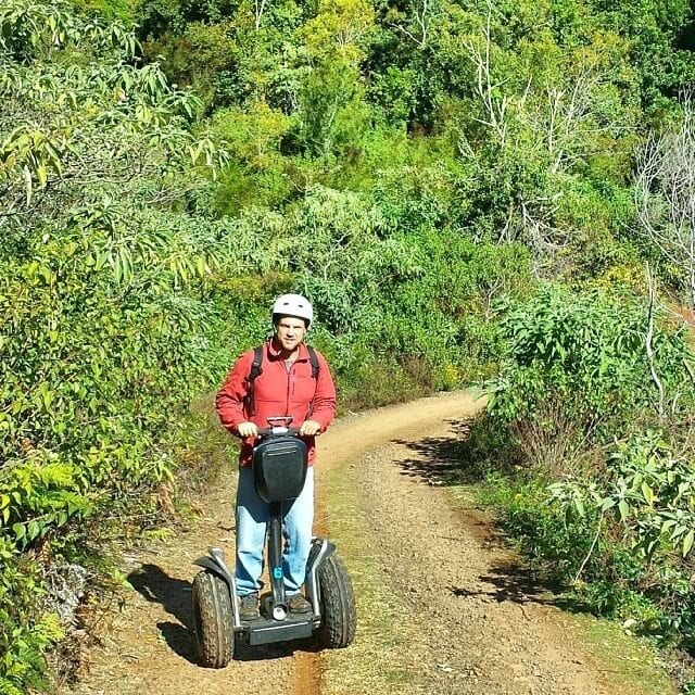 Segway safari at O'Reilly's Rainforest Retreat in the Gold Coast Hinterland of Queensland, Australia