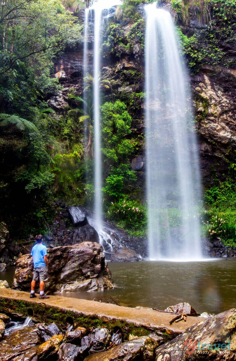 Twin Falls, Springbrook National Park, Gold Coast Hinterland, Queensland, Australia