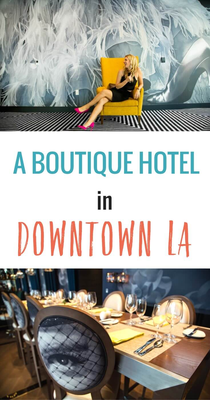 Downtown LA is a trendy destination on the rise. Why not stay in a modern, trendy boutique hotel in downtown Los Angeles and be close to the action? We share a review of the Hotel Indigo. Happy Pinning and enjoy your stay!