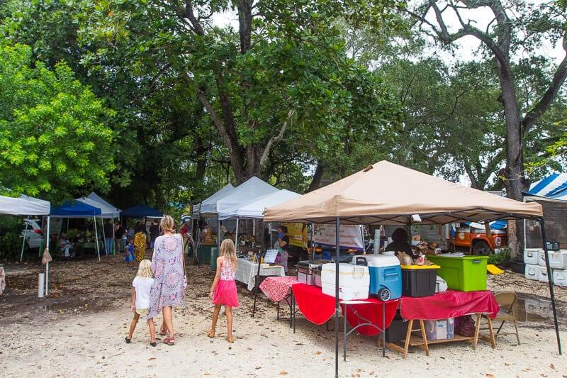 Coconut Grove Farmers Market, Miami