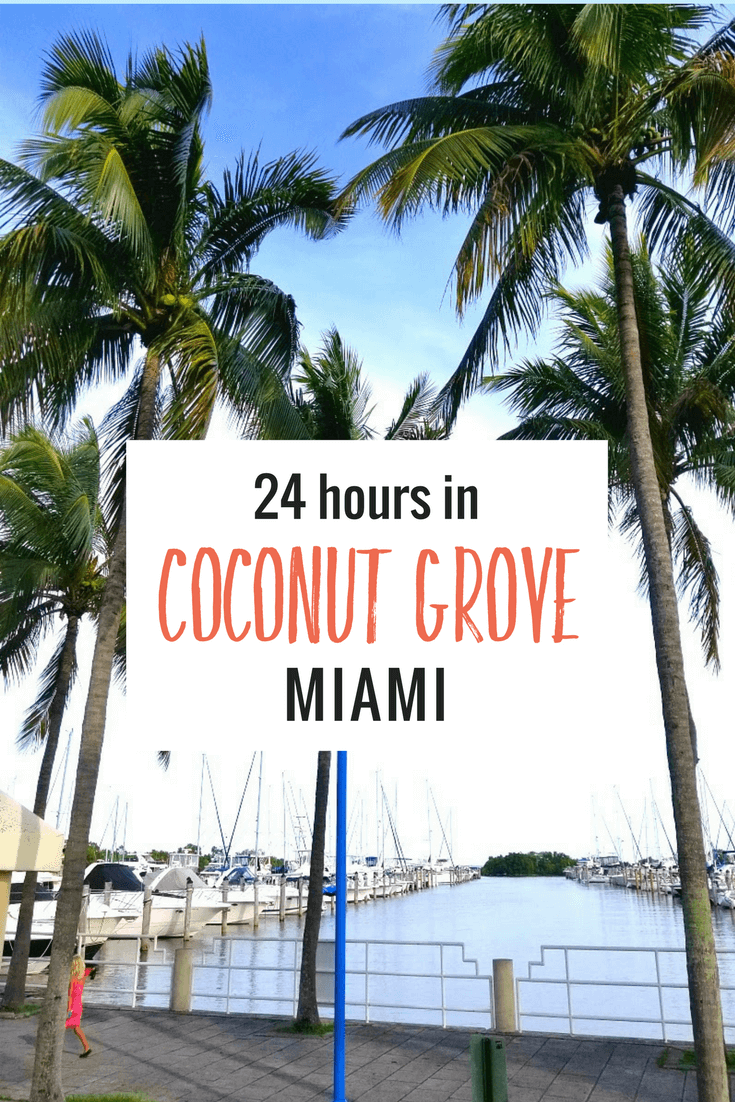 Miami's oldest neighborhood of Coconut Grove was the perfect place for us to stay and explore for 24 hours prior to our Carnival Cruise. Come see why!