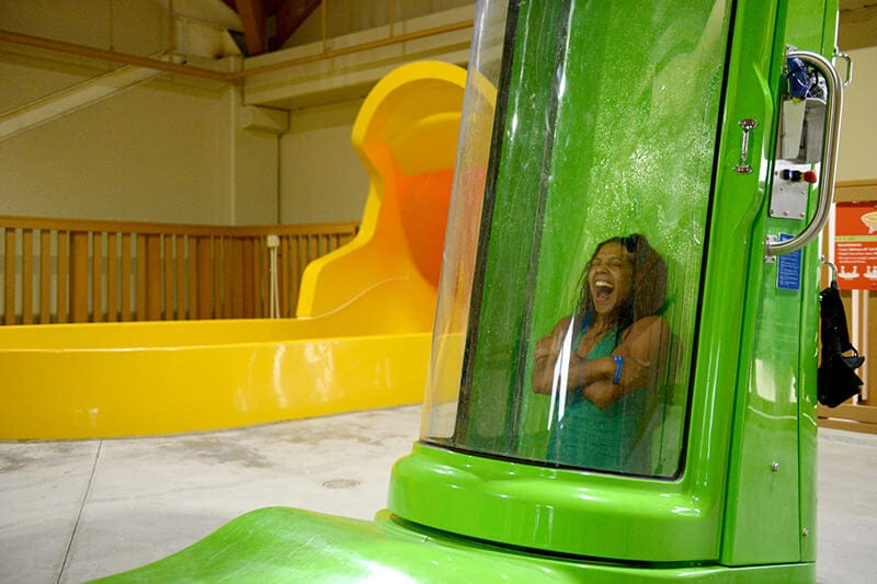 Great Wolf Lodge waterpark and waterslides