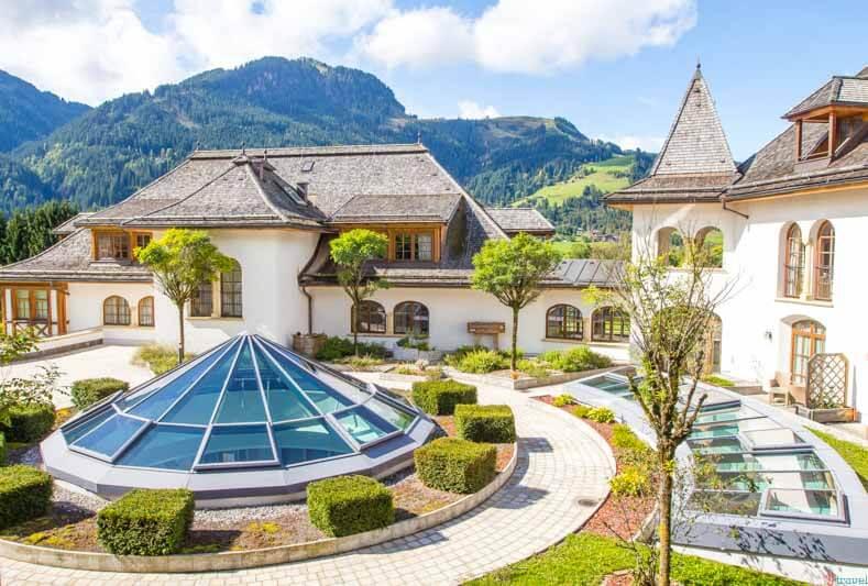 The A-Rosa Hotel Kitzbuehel Tirol Austria