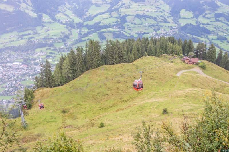 Cable Car Hahnenkamm MountainKitzbuhel Tirol Austria