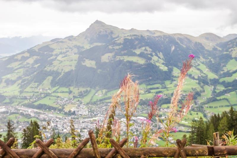 The view from Hahnenkamm MountainKitzbuehel Tirol Austria (2)