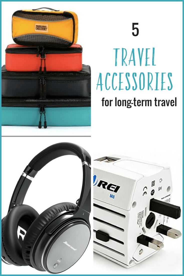 Planning a trip? Here are 5 handy travel accessories that will improve your long-term travel experience