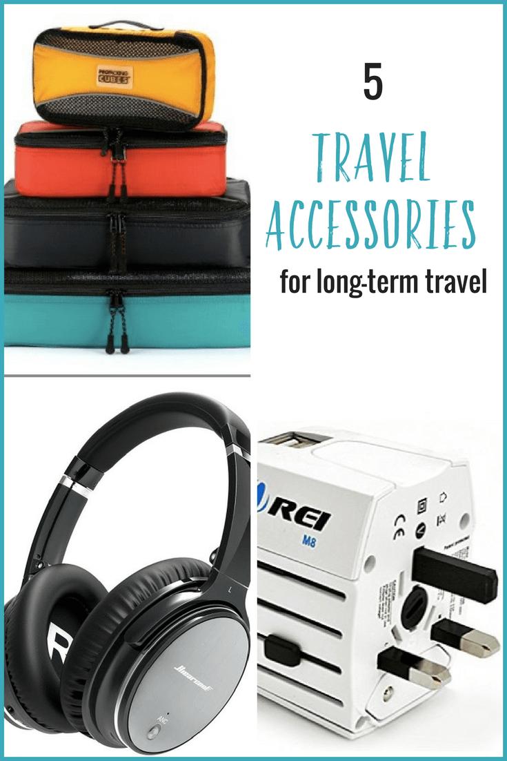 Vous planifiez un voyage? Voici 5 accessoires de voyage pratiques qui amélioreront votre expérience de voyage à long terme