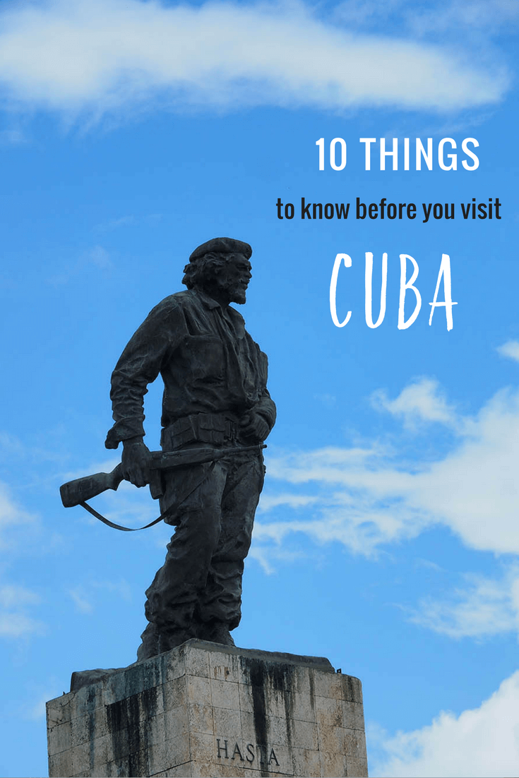 Planning a trip to Cuba? Here are 10 things you should know before traveling to Cuba! #Caribbean #Cuba #CubaTrip