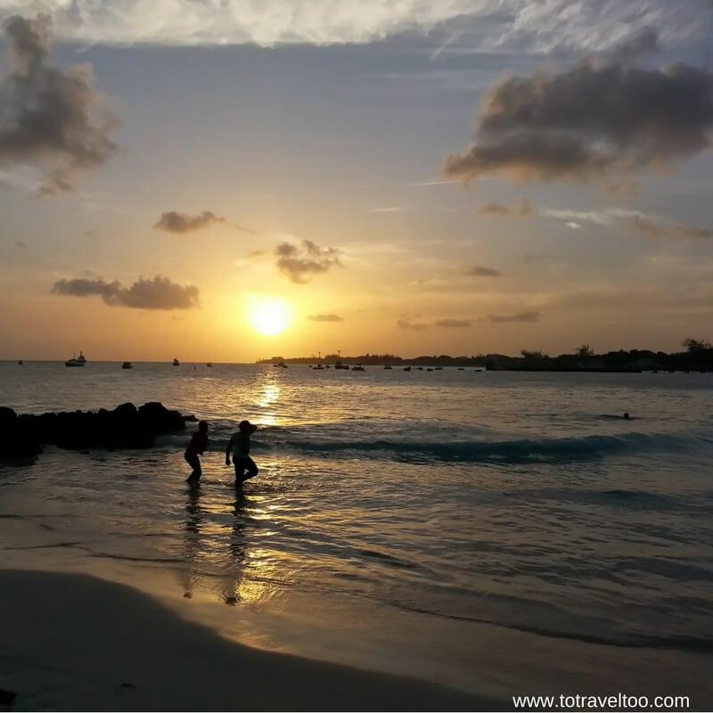 Miami Beach in Barbados at Sunrise!