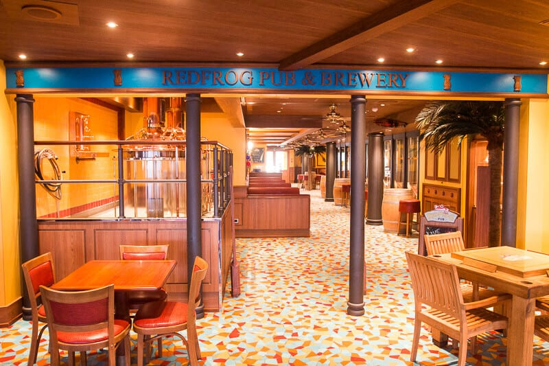 Red Frog Pub - Carnival Vista