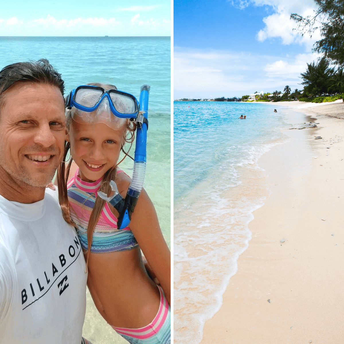 7 Mile Beach in the Grand Caymans is an awesome shore excursion on a Carnival Vista western Caribbean Cruise