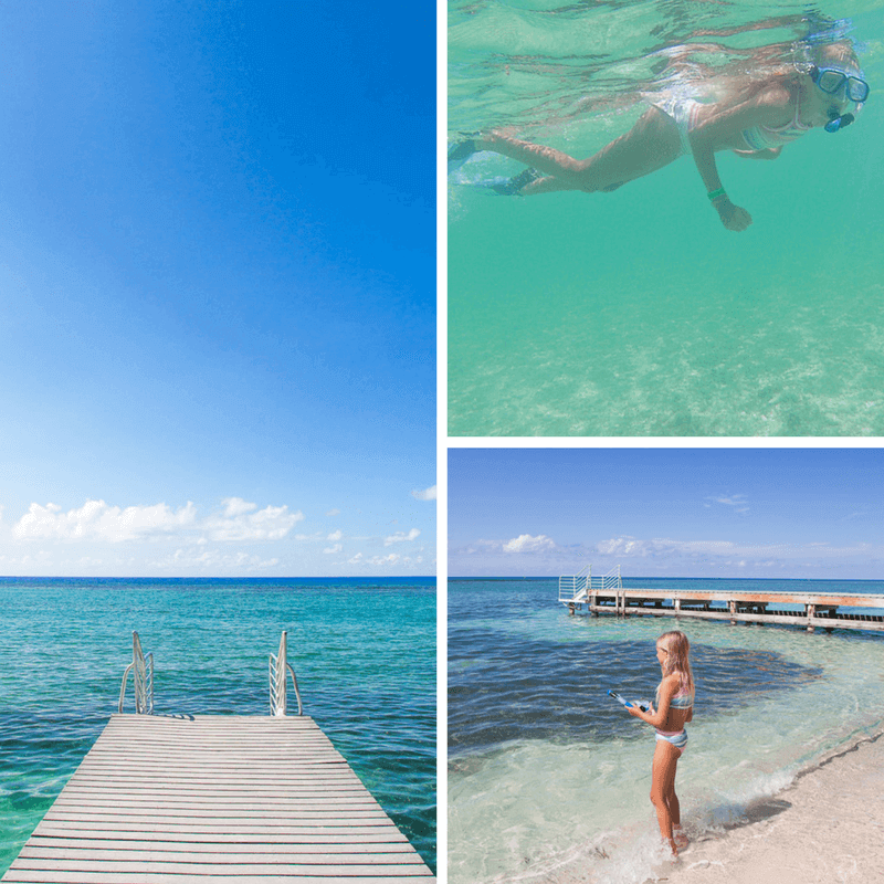 Spotts Beach in Grand Cayman Islands